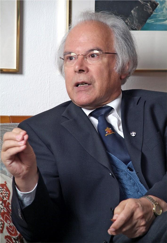 P. Andreas Resch im Gespräch