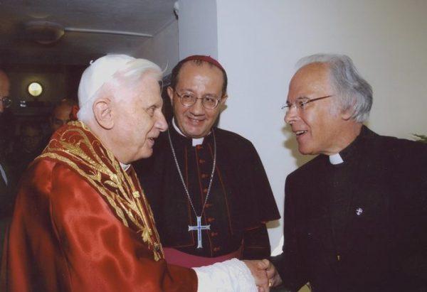 Benedikt XVI., Bischof Corti, P. Andreas Resch