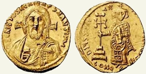 Solidus Justinians II.
