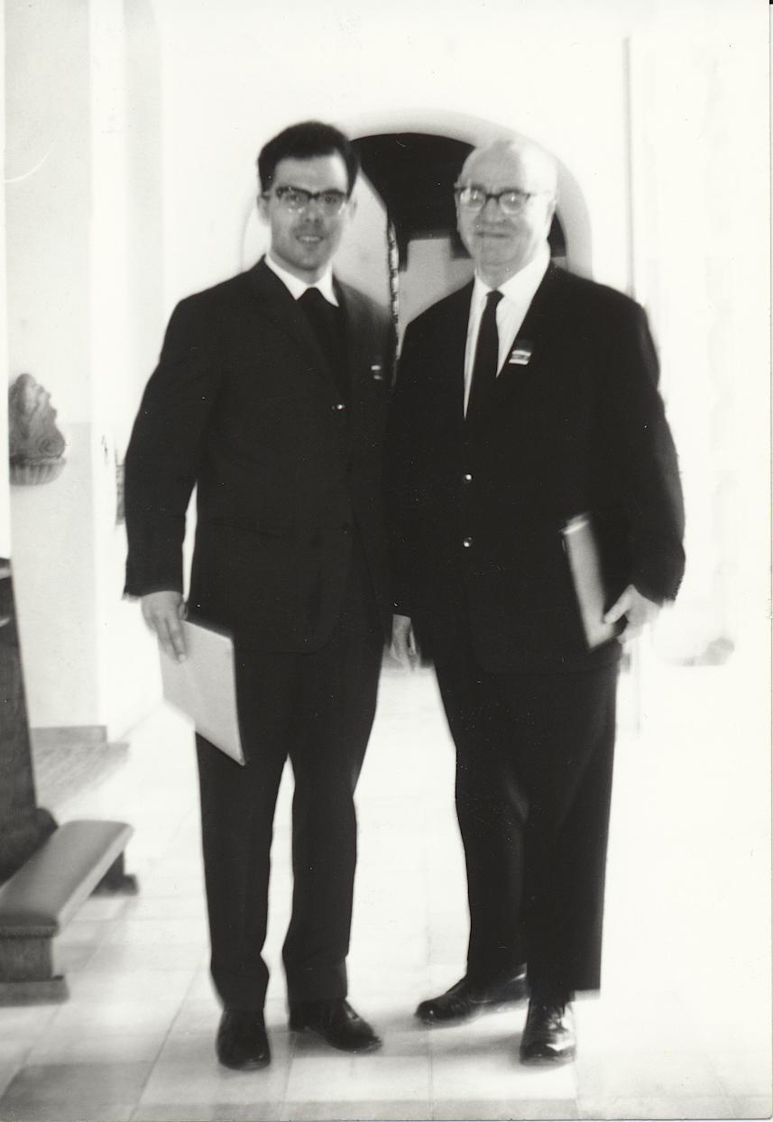 I. Internat. Imago Mundi-Kongress 1966 in Fürstenried bei München, Im Kraftfeld des christlichen Weltbildes, Dr. Andreas Resch, Prof. Dr. Gebhard Frei