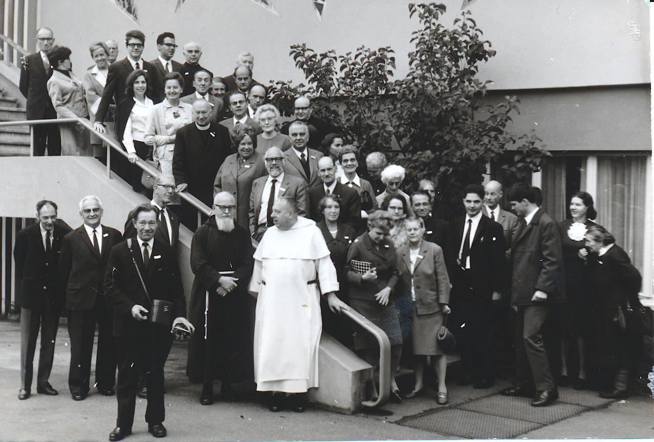II. Internat. Imago Mundi-Kongress 1968, Luzern, 2. Gruppenfoto