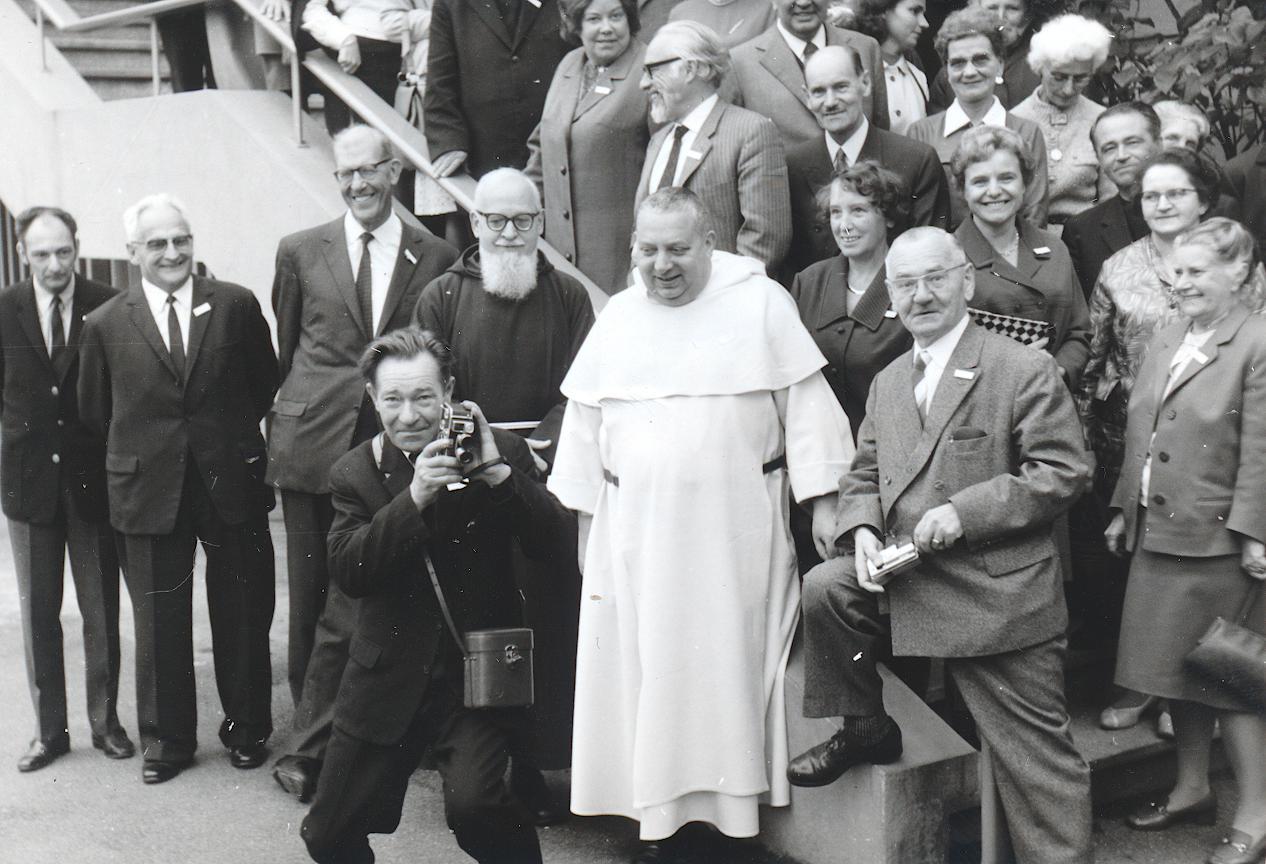 II. Internat. Imago Mundi-Kongress 1968, Luzern, Gruppenfoto