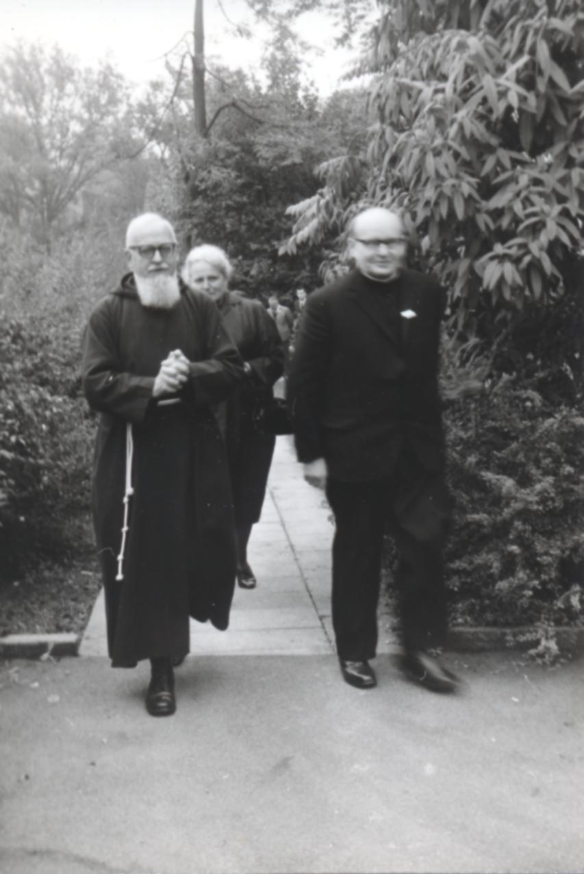II. Internat. Imago Mundi-Kongress 1968, Luzern, Welt, Mensch und Wissenschaft morgen, P. Franz Josef Maus, OCap, Wilhelm Schamoni