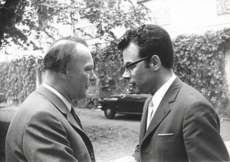 III. Internat. Imago Mundi-Kongress 1970, Puchberg, OÖ, Ing. Franz Seidl, Prof. Andreas Resch