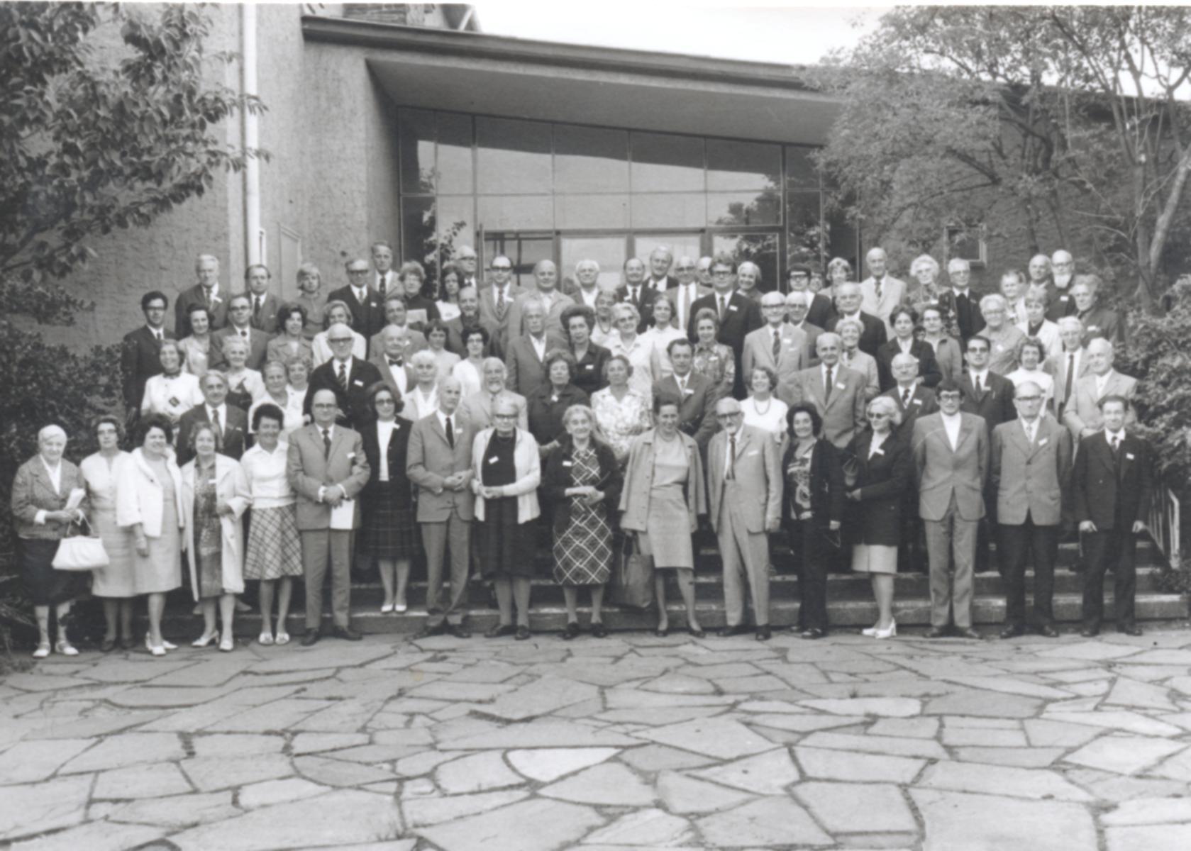 IV. Internat. Imago Mundi-Kongress 1972 Königstein im Taunus, Gruppenfoto