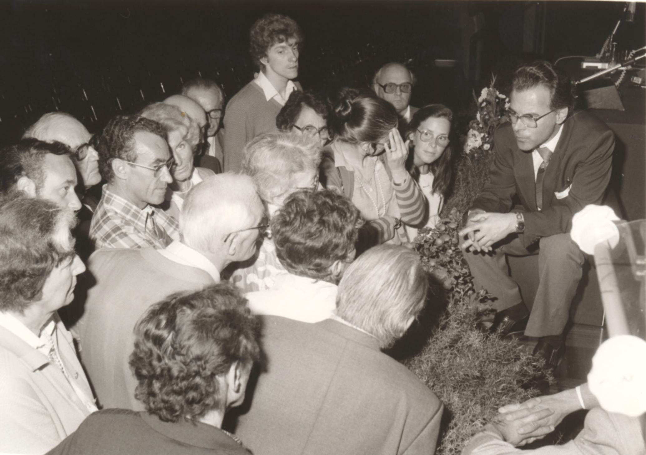 IX. Imago Mundi-Kongress 1982, Innsbruck, Prof. DDr. Andreas Resch im Gespräch