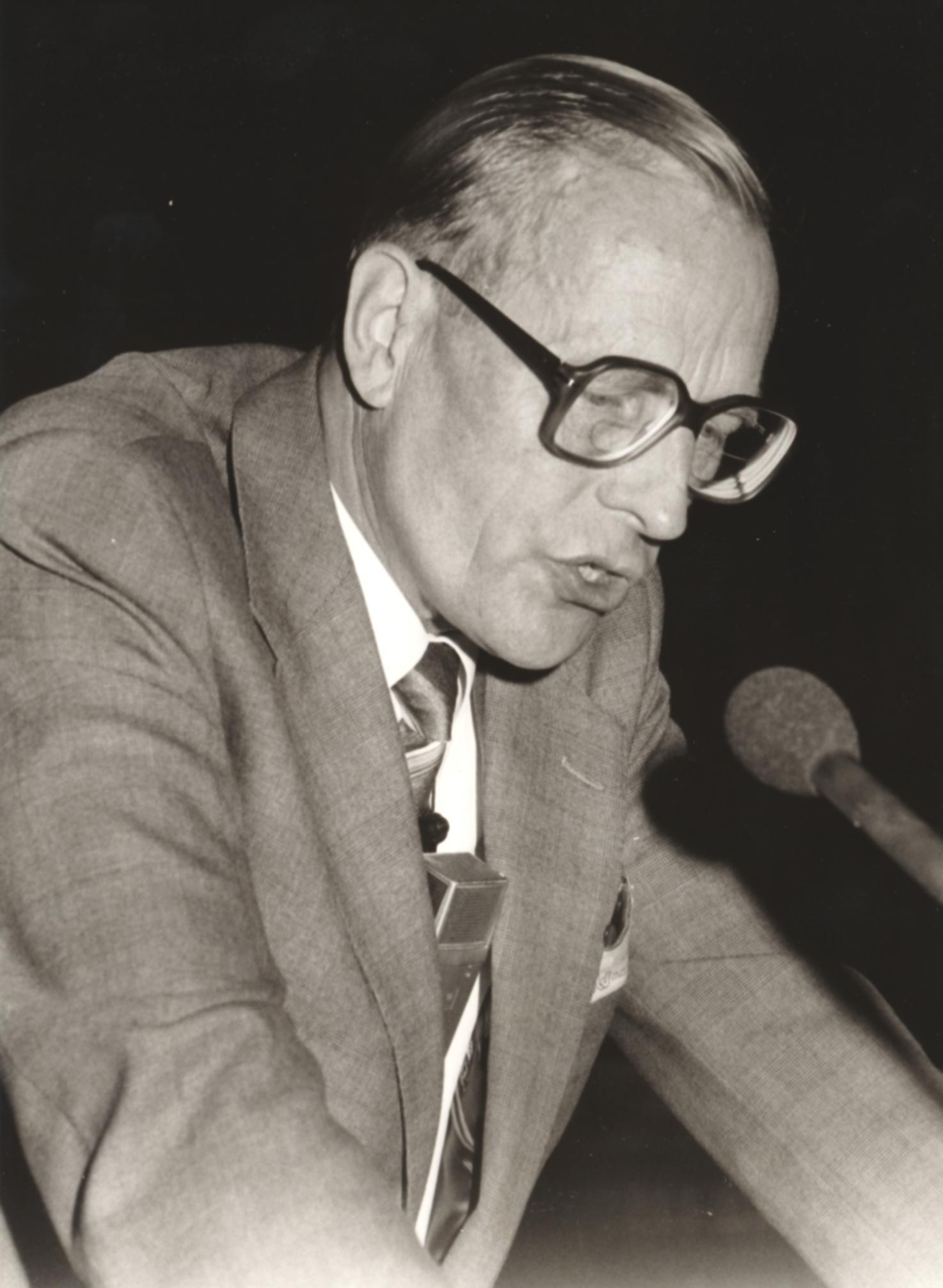 IX. Imago Mundi-Kongress 1982, Innsbruck, Prof. Dr. Hans Jürgen Bretschneider