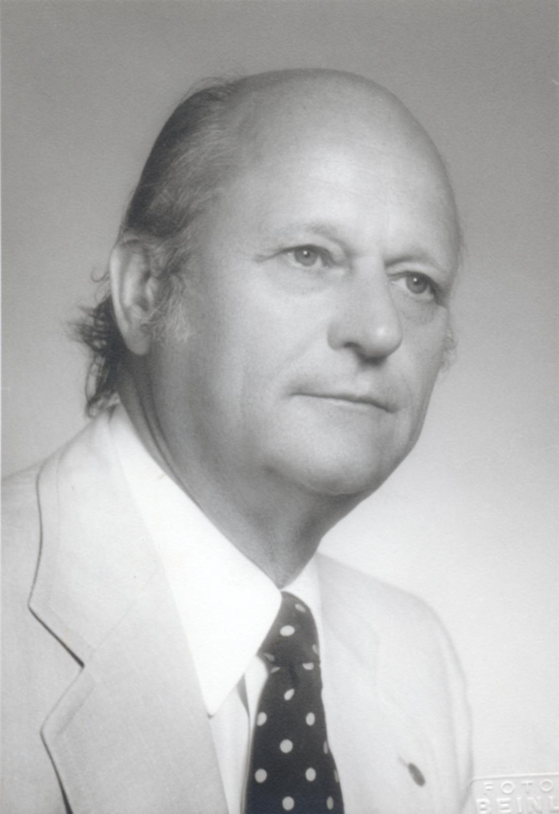 IX. Imago Mundi-Kongress 1982, Innsbruck, Prof. Dr. Hellmut Hofmann