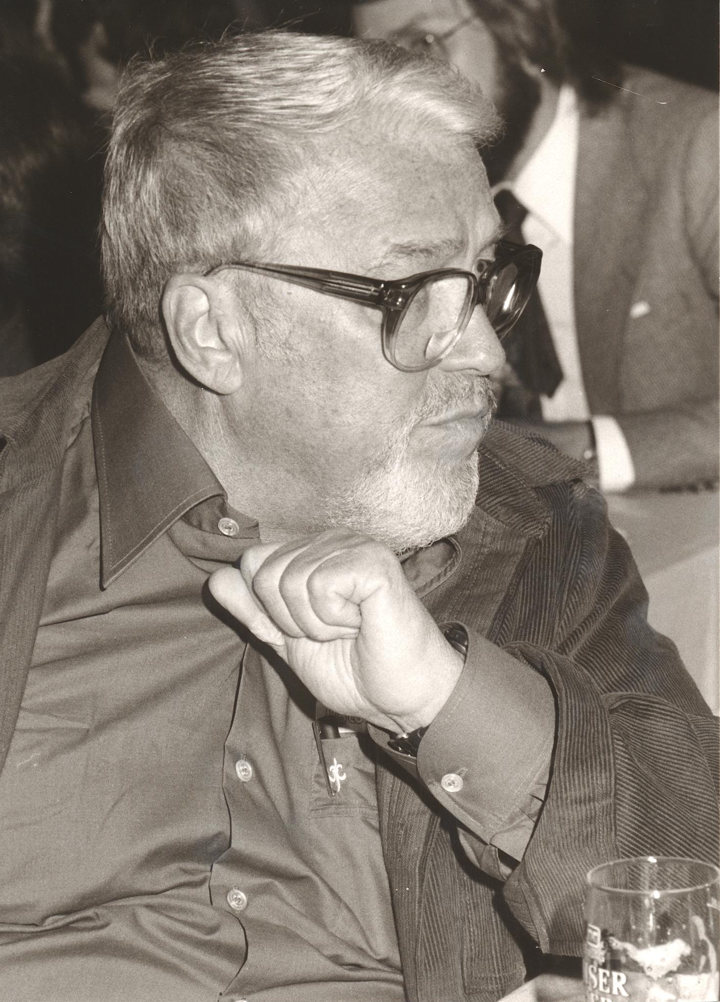 IX. Imago Mundi-Kongress 1982, Innsbruck, Regisseur Rolf Olsen