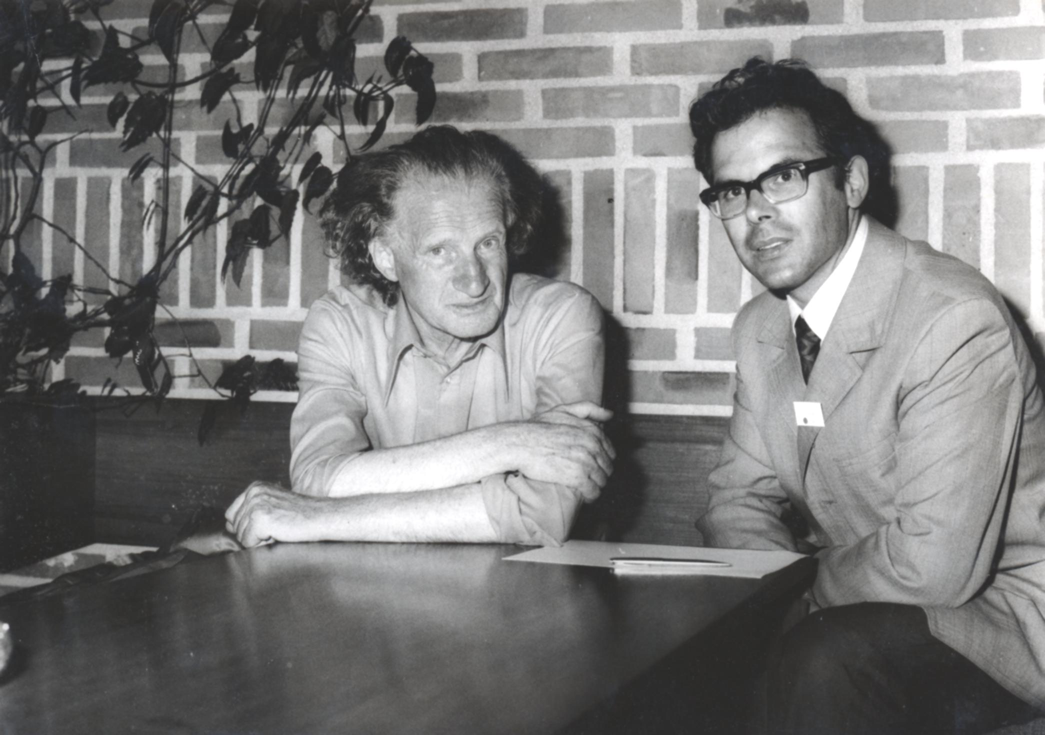V. Internat. Imago Mundi-Kongress 1974, Cusanus Akademie, Brixen, Gerard Croiset, Prof. Andreas Resch