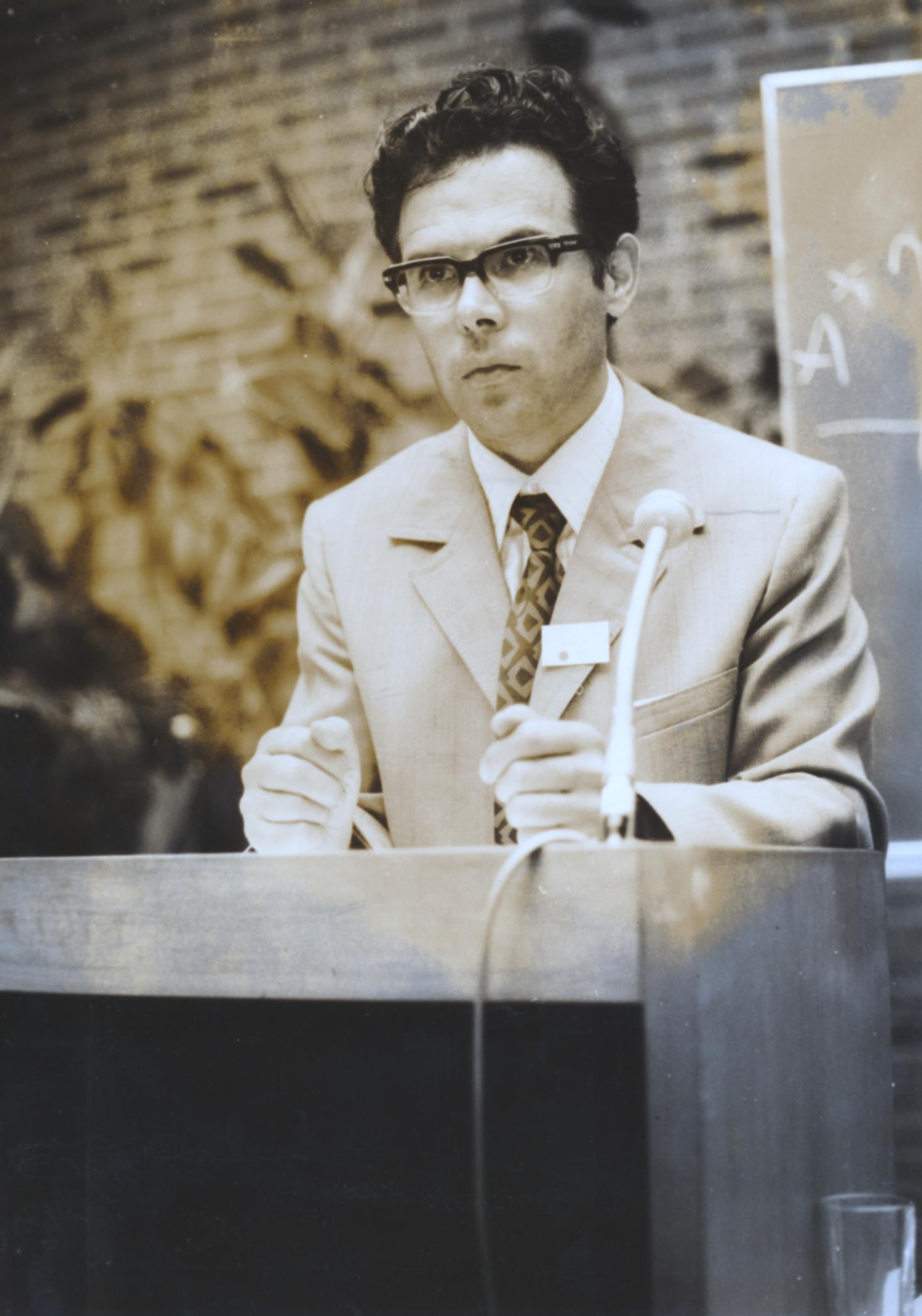 V. Internat. Imago Mundi-Kongress 1974, Cusanus Akademie, Brixen, Prof. Andreas Resch