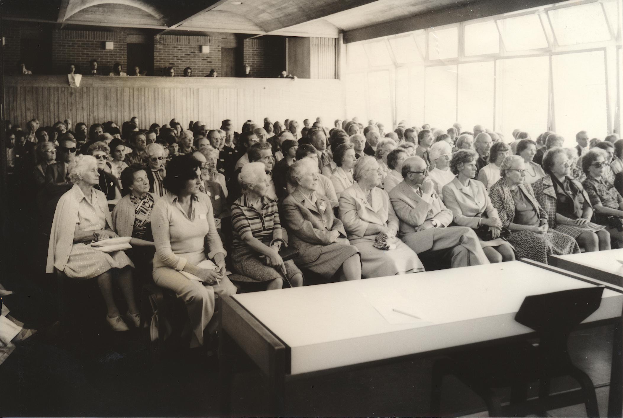 V. Internat. Imago Mundi-Kongress 1974, Cusanus Akademie, Brixen, Teilnehmerfoto