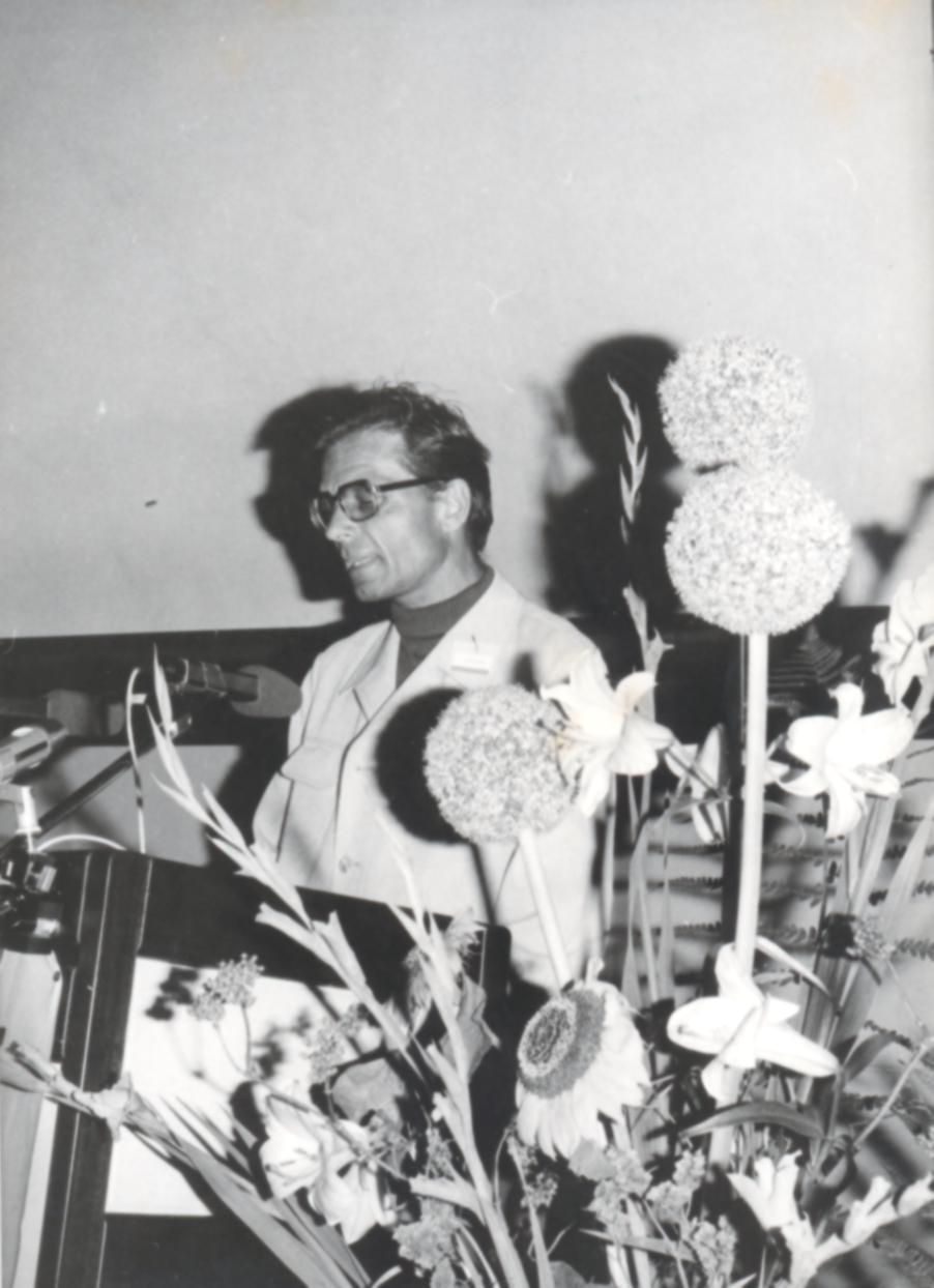 VI. Imago Mundi Kongress 1976, Haus St. Ulrich, Augsburg, Dr. Wilhelm Schjelderup