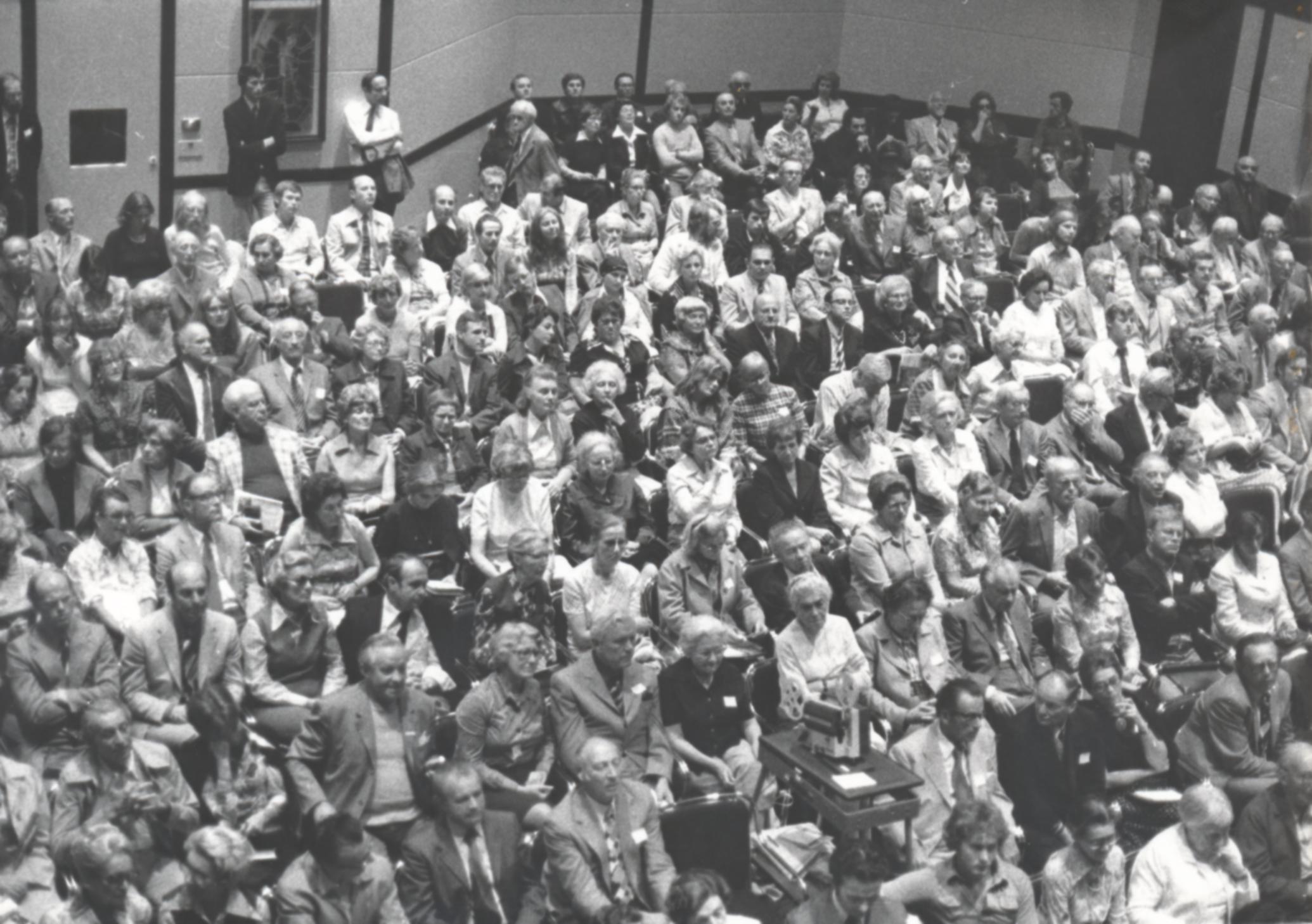 VI. Imago Mundi Kongress 1976, Haus St. Ulrich, Augsburg, Gruppenfoto