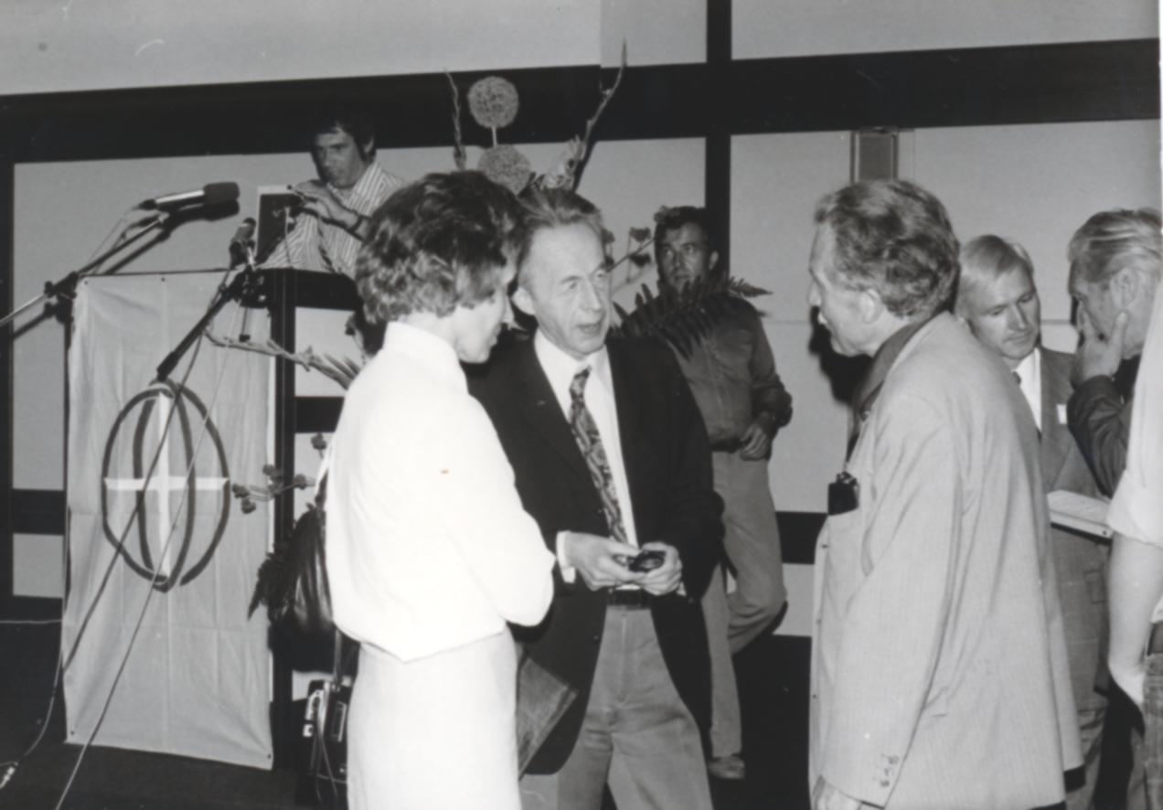 VI. Imago Mundi Kongress 1976, Haus St. Ulrich, Augsburg, Mitte Dr. Walter Kucher