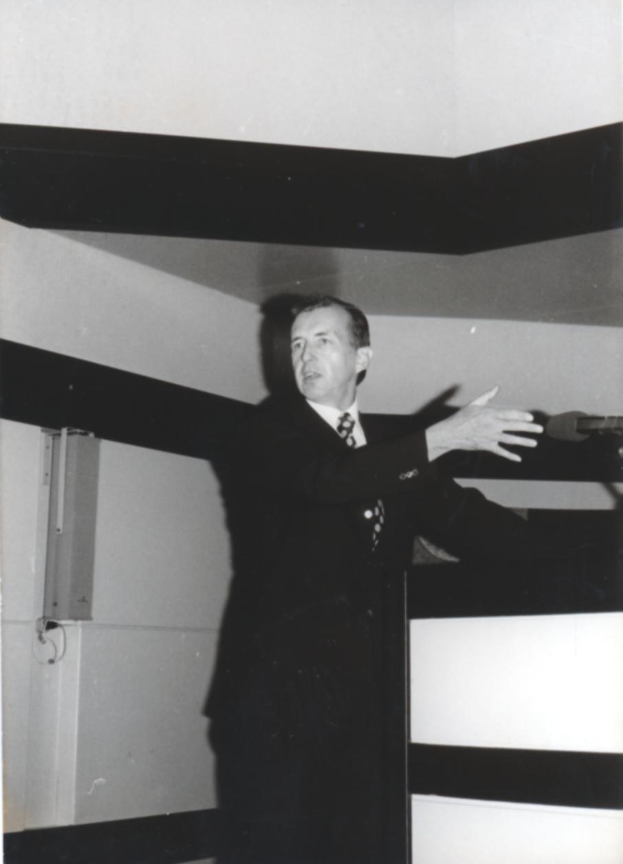VI. Imago Mundi Kongress 1976, Haus St. Ulrich, Augsburg, Prof. Dr. Alfred Stelter