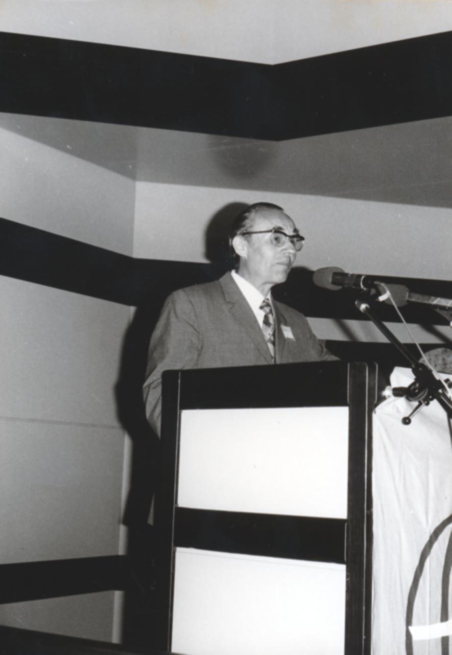VI. Imago Mundi Kongress 1976, Haus St. Ulrich, Augsburg, Prof. Dr. Erwin Nickel
