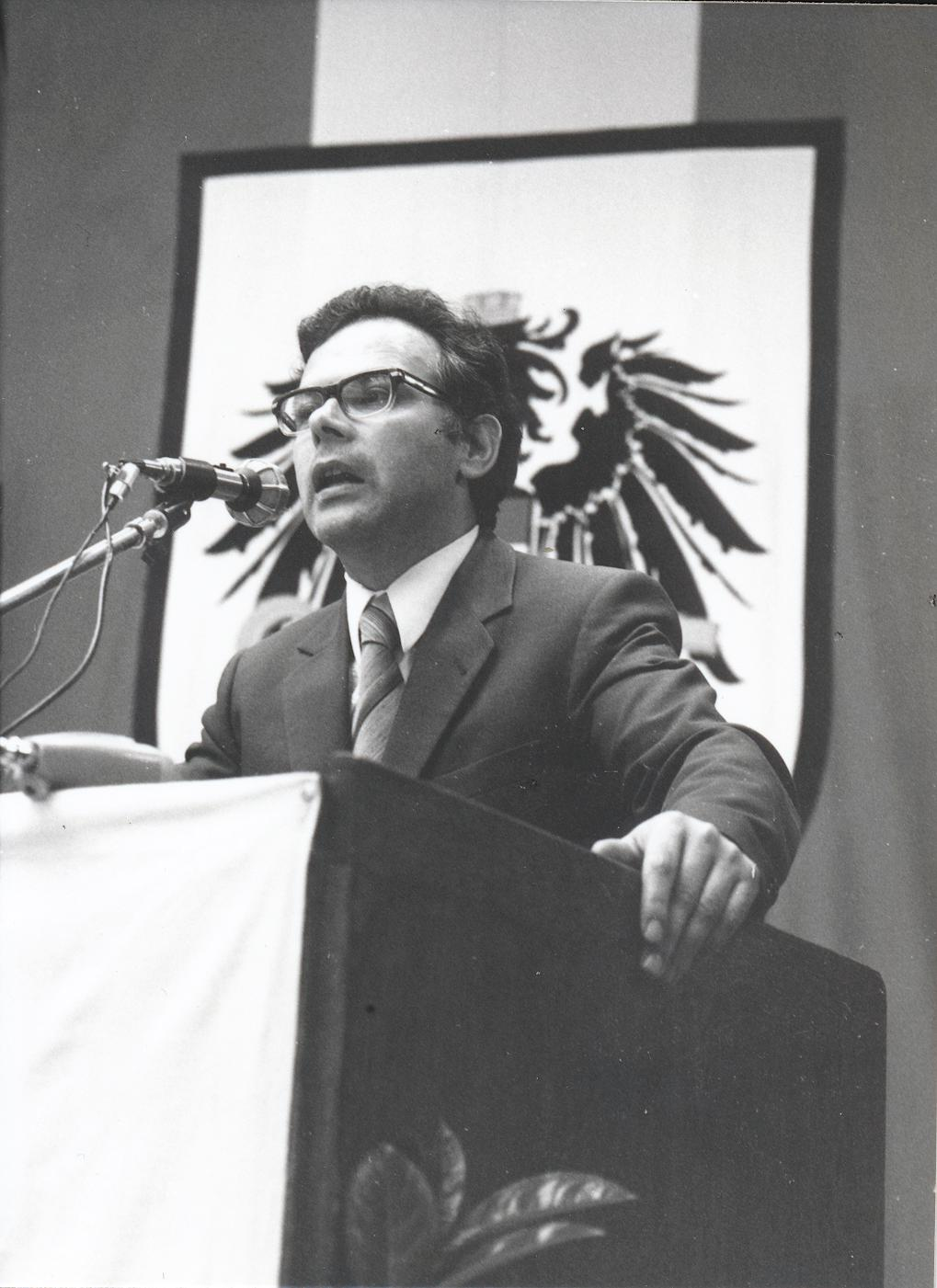 VII. Internationaler Imago Mundi-Kongress 1978, Innsbruck, Prof. DDr. Andreas Resch