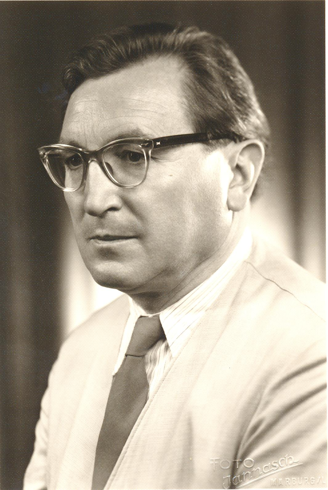 VII. Internationaler Imago Mundi-Kongress 1978, Innsbruck, Prof. DDr. Ernst Benz