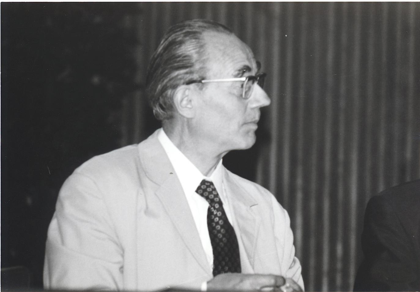 VII. Internationaler Imago Mundi-Kongress 1978, Innsbruck, Prof. Dr. Erwin Nickel