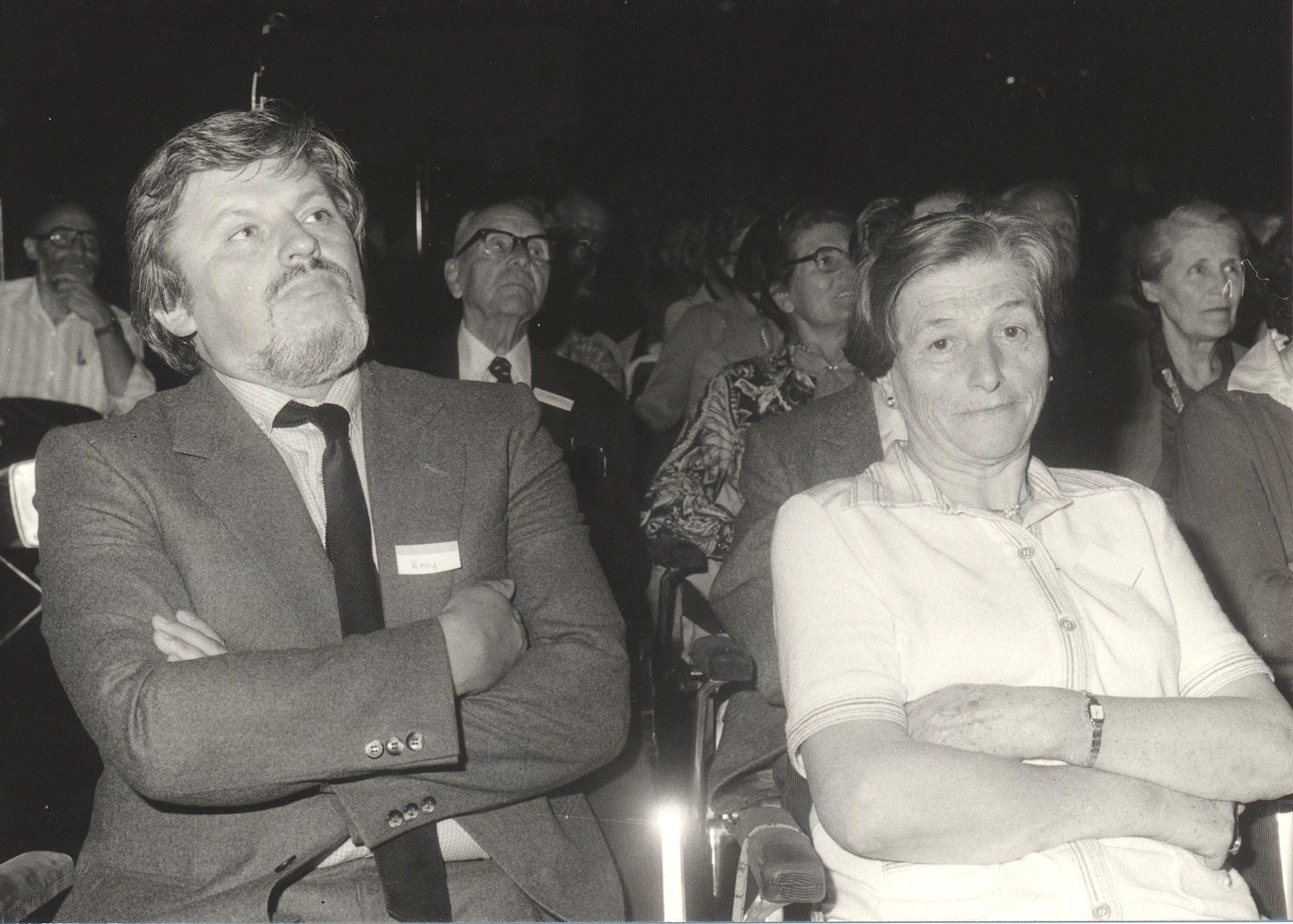 VIII. Internat. Imago Mundi-Kongress 1980, Innsbruck, Dr. Walter Kroy