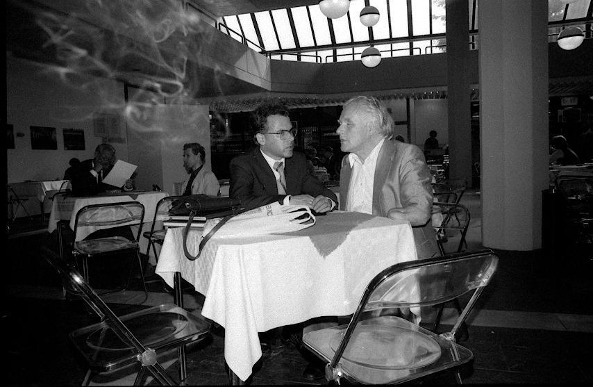 VIII. Internat. Imago Mundi-Kongress 1980, Innsbruck, Prof. Andreas Resch und Dipl.Phys. Burkhard Heim
