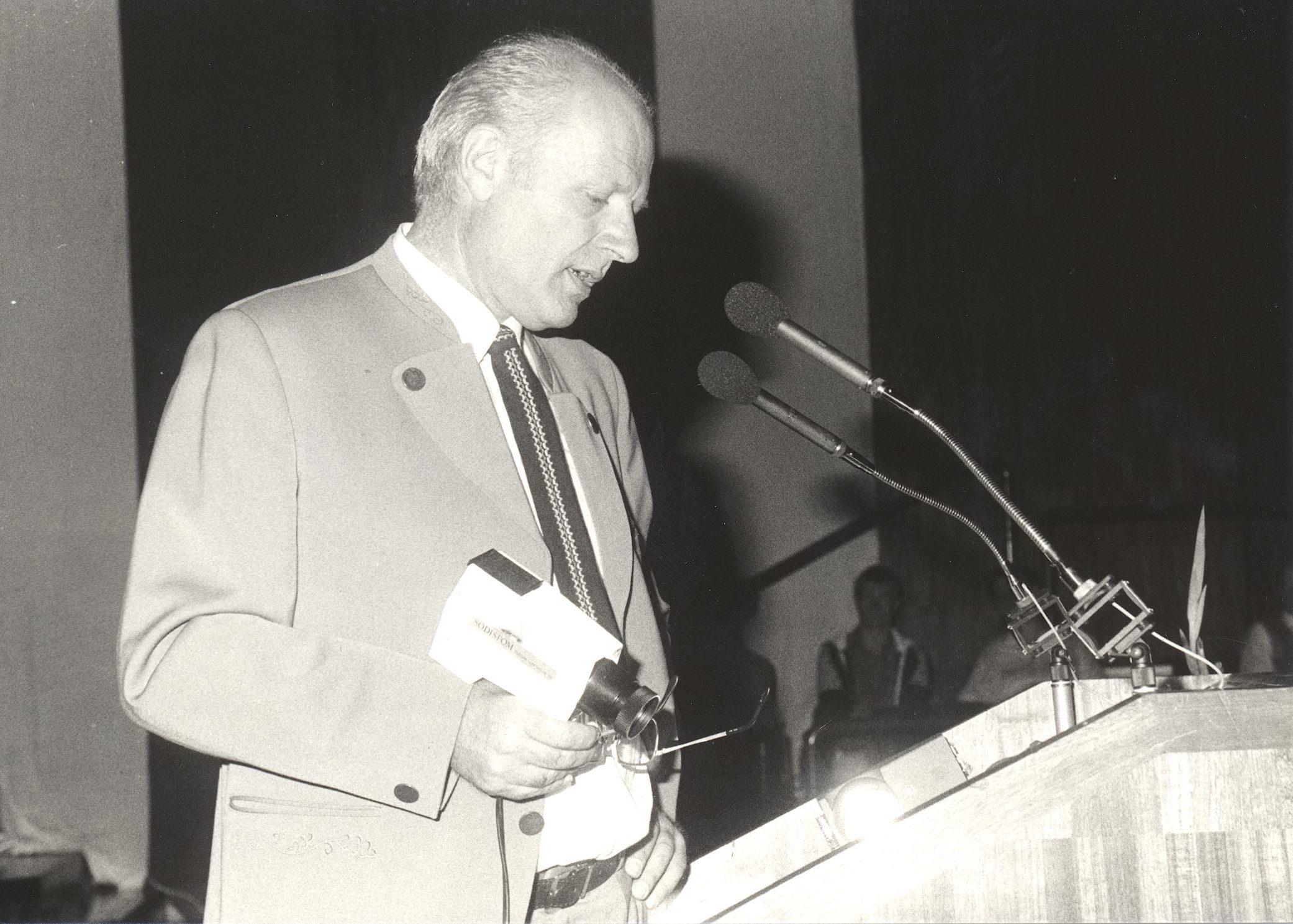 VIII. Internat. Imago Mundi-Kongress 1980, Innsbruck, Prof. Dr. Ing. Herbert L. König
