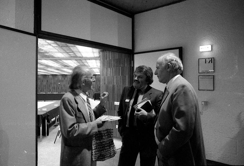 VIII. Internat. Imago Mundi-Kongress 1980, Innsbruck, Reinhard Schneider, Dr. Dipl.Phys. Walter Kroy, Prof. Dr. Ing. Herbert L. König