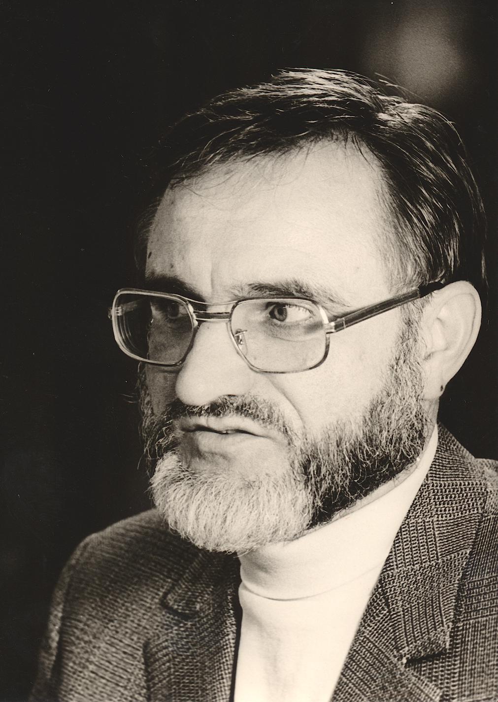 X. Imago Mundi-Kongress 1985, Innsbruck, Dr. Walter A. Frank