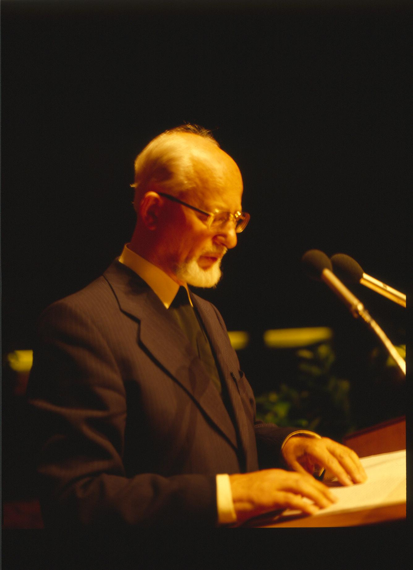 X. Imago Mundi-Kongress 1985, Innsbruck, Prof. DDr. Klaus Schedl