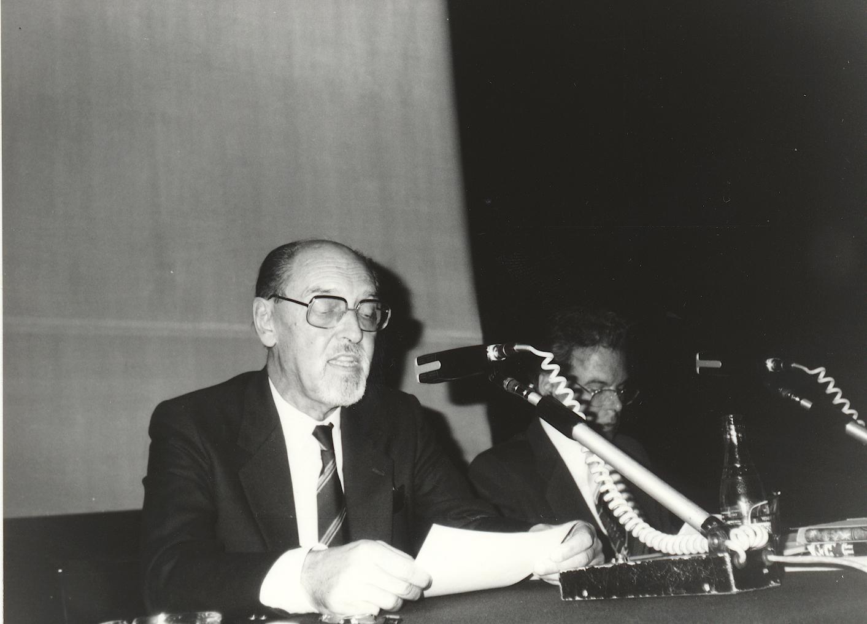 X. Imago Mundi-Kongress 1985, Innsbruck, Prof. Dr. Wolfgang Wesiack