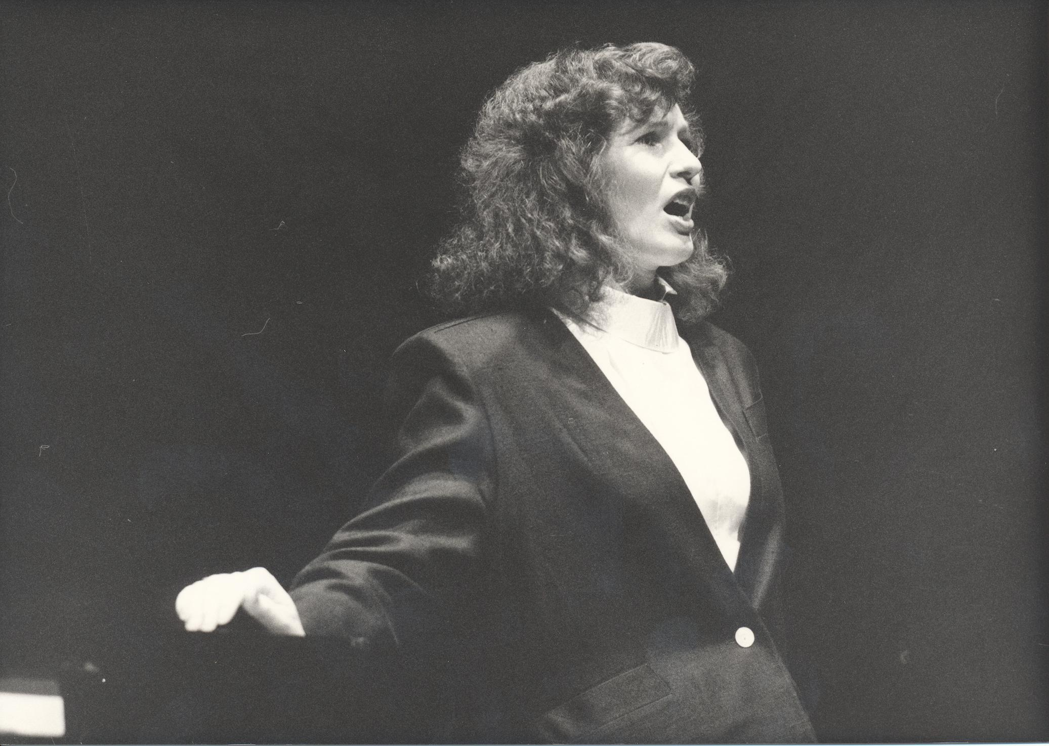XI. Imago Mundi-Kongress 1987, Innsbruck, Annemarie Zeller, Sopranistin