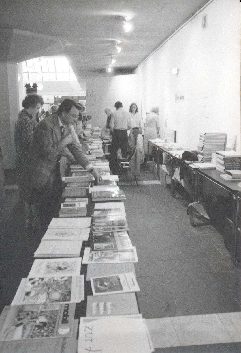 XI. Imago Mundi-Kongress 1987, Innsbruck, Büchertisch
