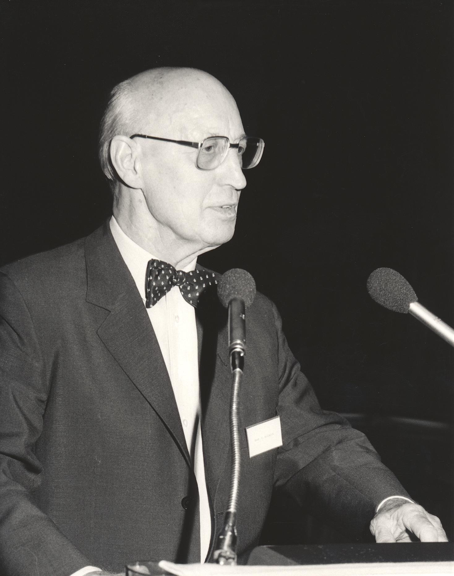 XI. Imago Mundi-Kongress 1987, Innsbruck, Prof. Dr. Dr. Fritz Hollwich