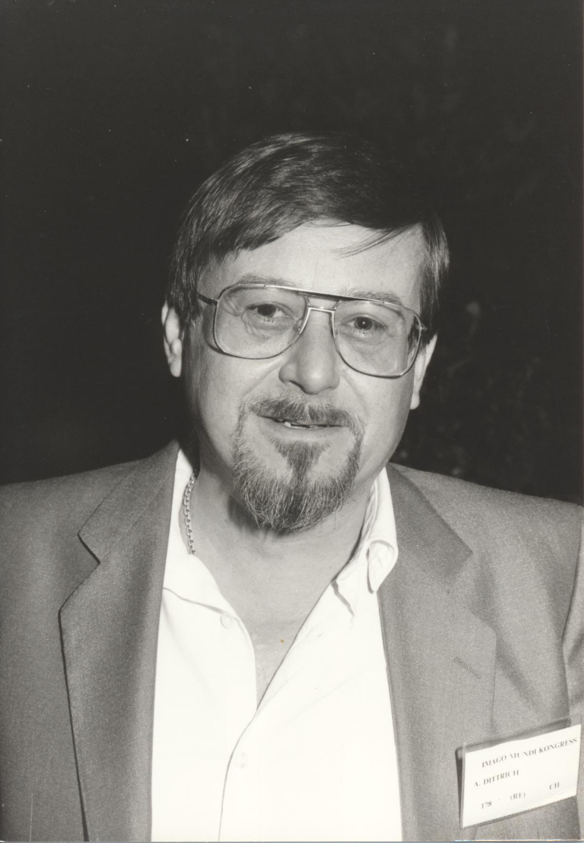 XII. Imago Mundi-Kongress 1989, Innsbruck, Doz. Dr. Adolf Dittrich