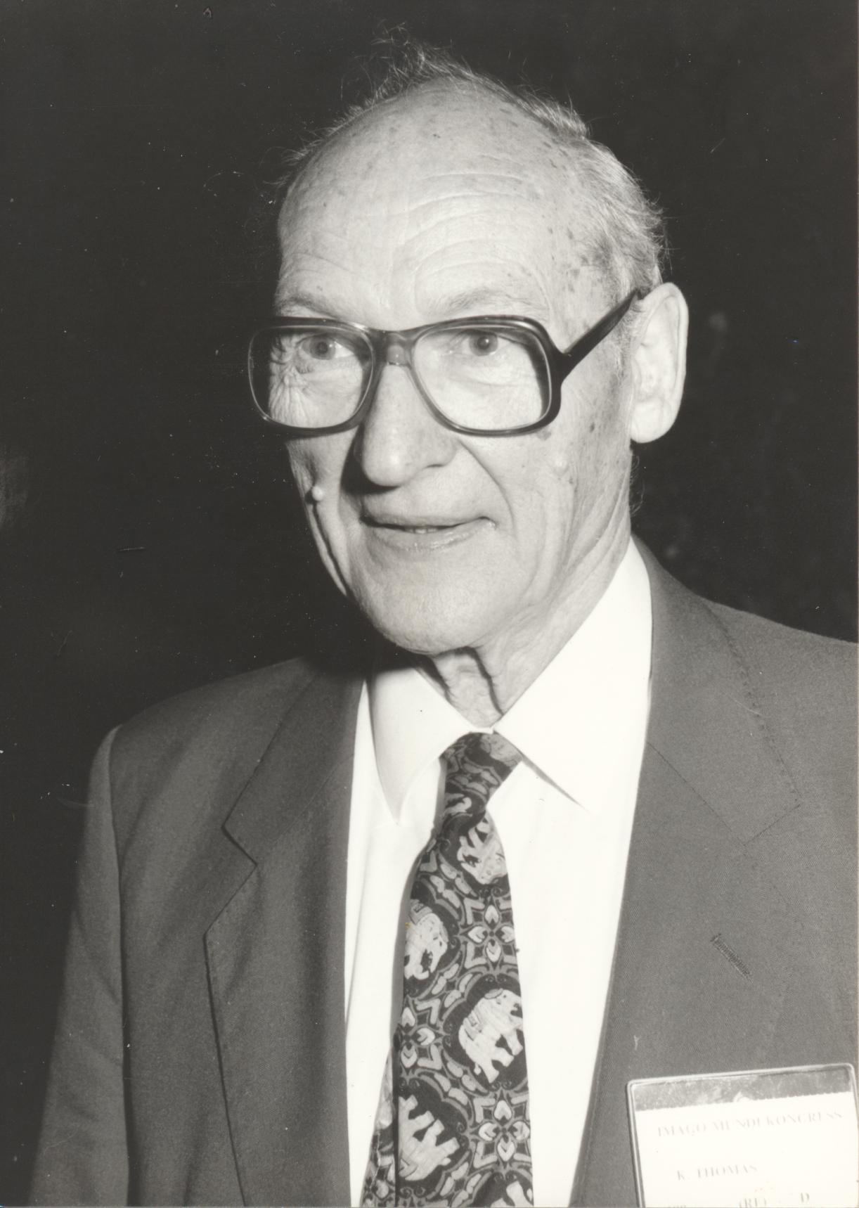 XII. Imago Mundi-Kongress 1989, Innsbruck, Dr. Dr. Klaus Thomas