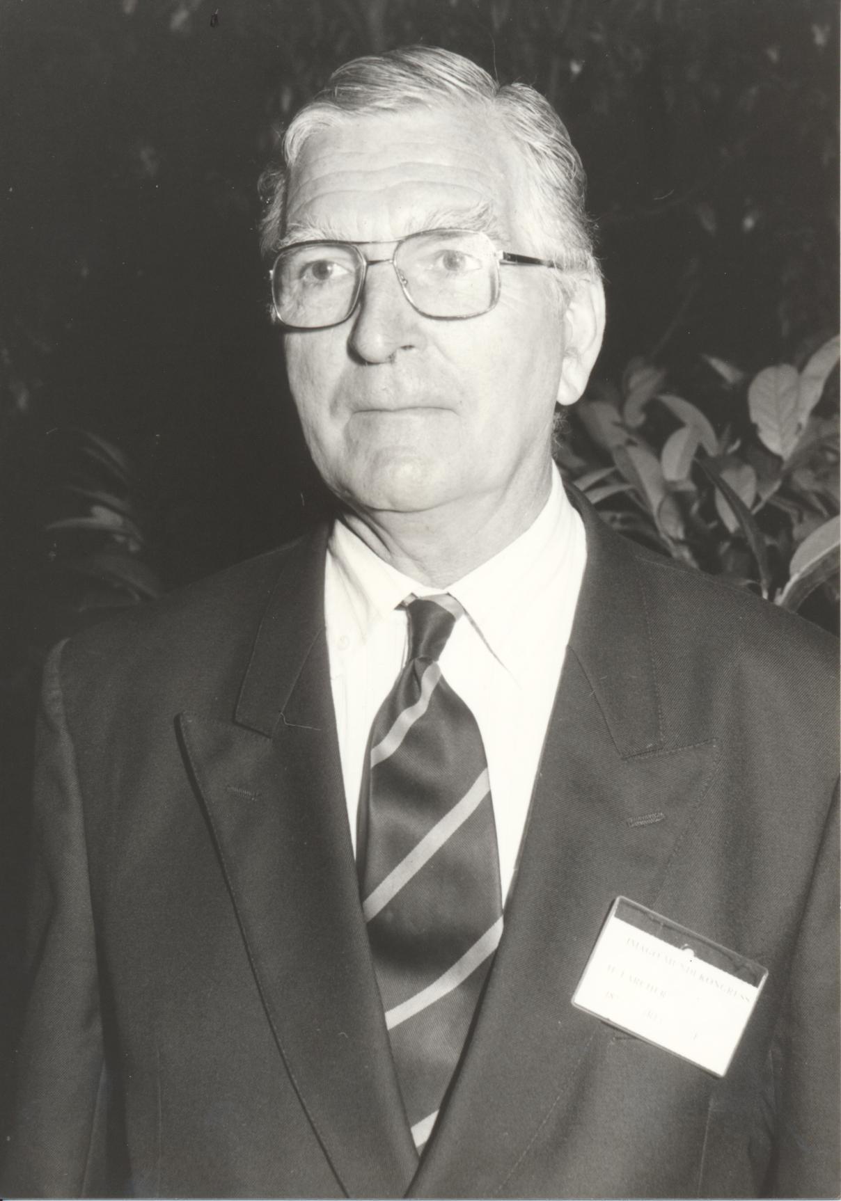 XII. Imago Mundi-Kongress 1989, Innsbruck, Dr. Hubert Larcher