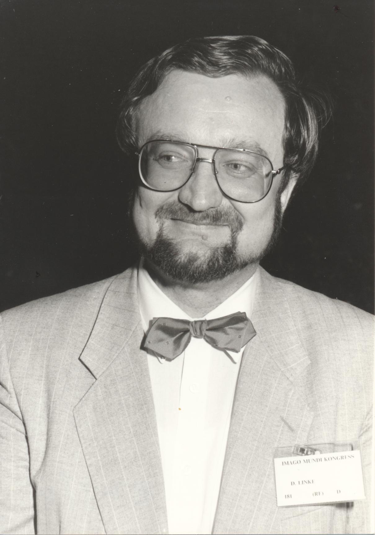 XII. Imago Mundi-Kongress 1989, Innsbruck, Prof. Dr. Detlef Bernhard Linke