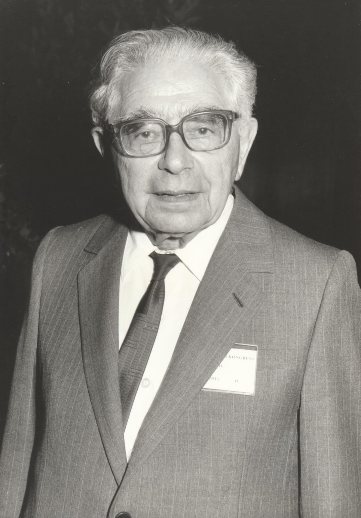 XII. Imago Mundi-Kongress 1989, Innsbruck, Prof. Dr. Friedrich S. Rothschild