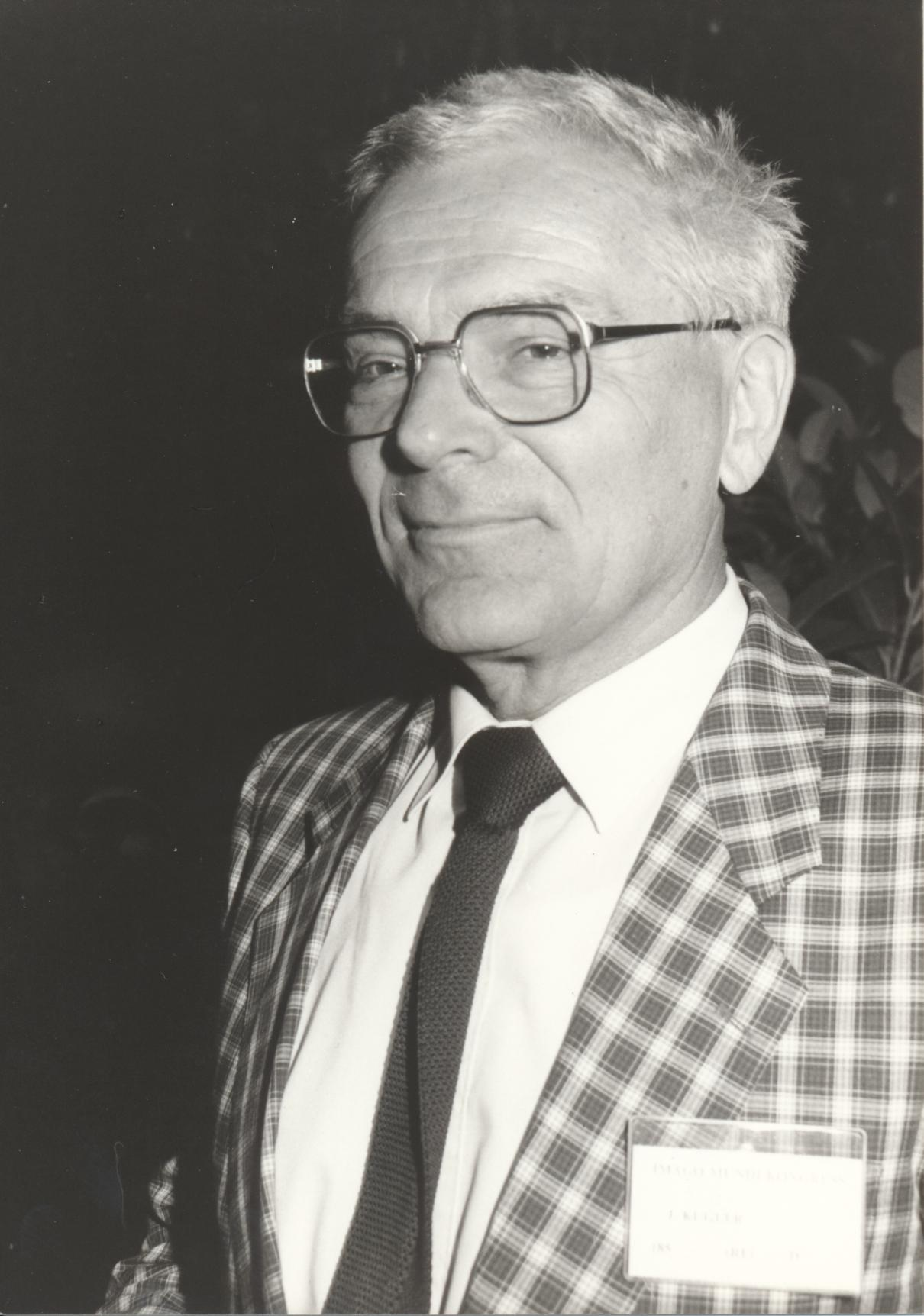 XII. Imago Mundi-Kongress 1989, Innsbruck, Prof. Dr. Johann Kugler
