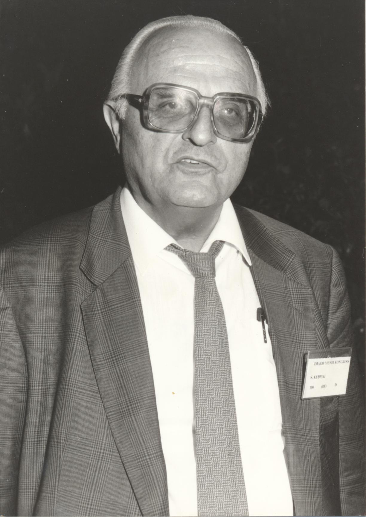 XII. Imago Mundi-Kongress 1989, Innsbruck, Prof. Dr. Stanislaw Kubicki