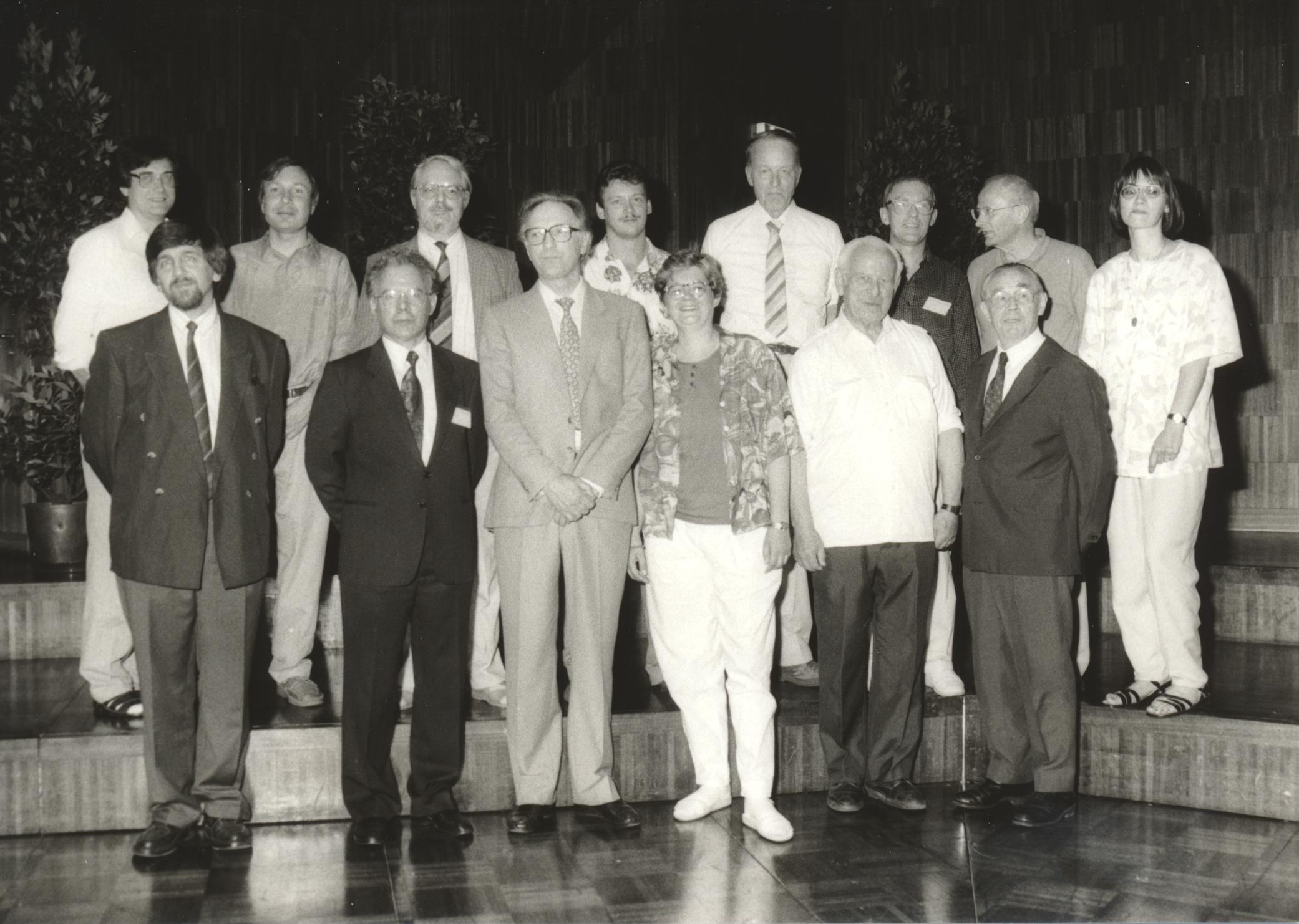 XIII. Imago Mundi-Kongress 1991, Innsbruck, Foto der Referenten