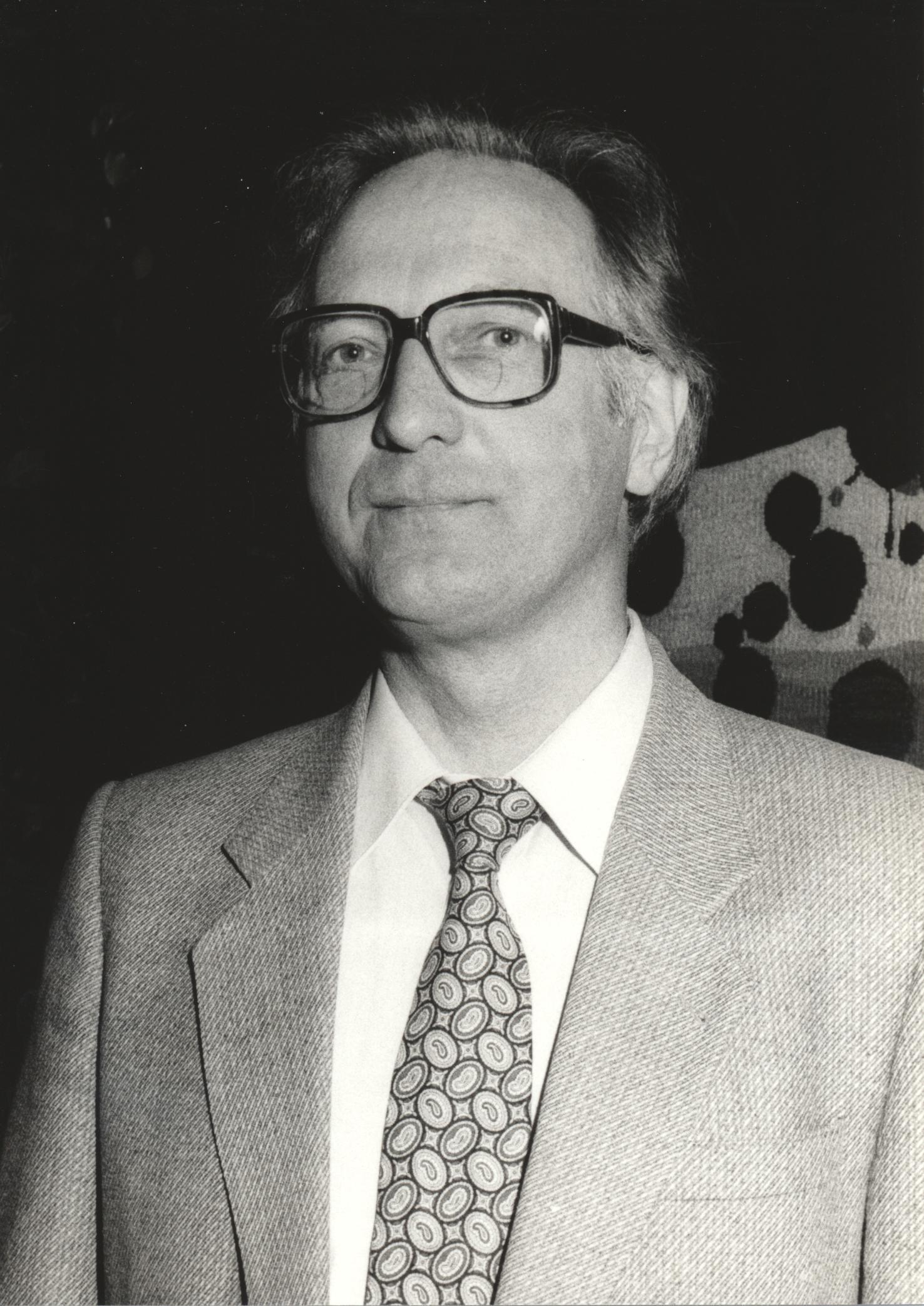 XIII. Imago Mundi-Kongress 1991, Innsbruck, Prof. Dr. Erlendur Haraldsson