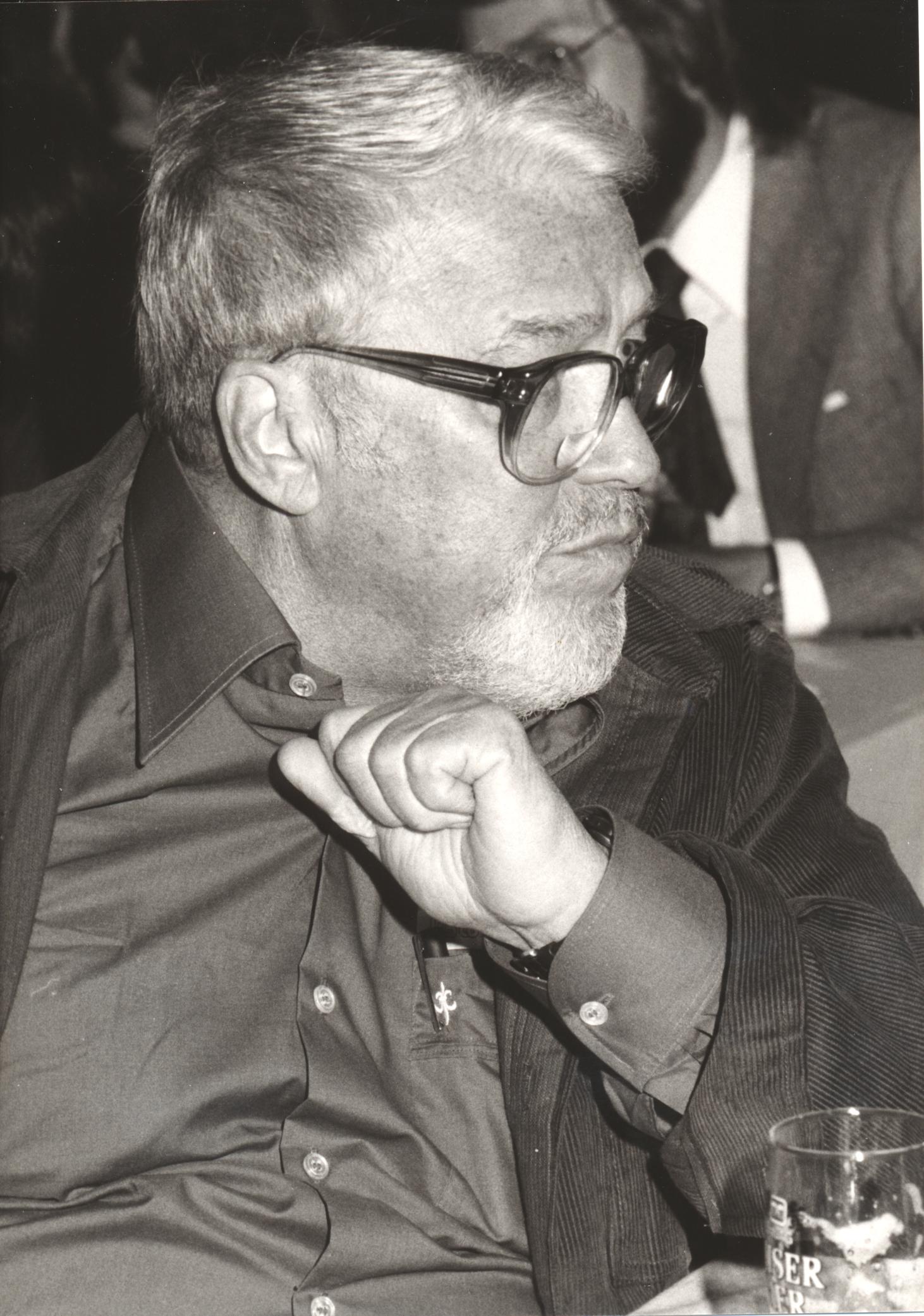 XIII. Imago Mundi-Kongress 1991, Innsbruck, Regisseur Rolf Olsen