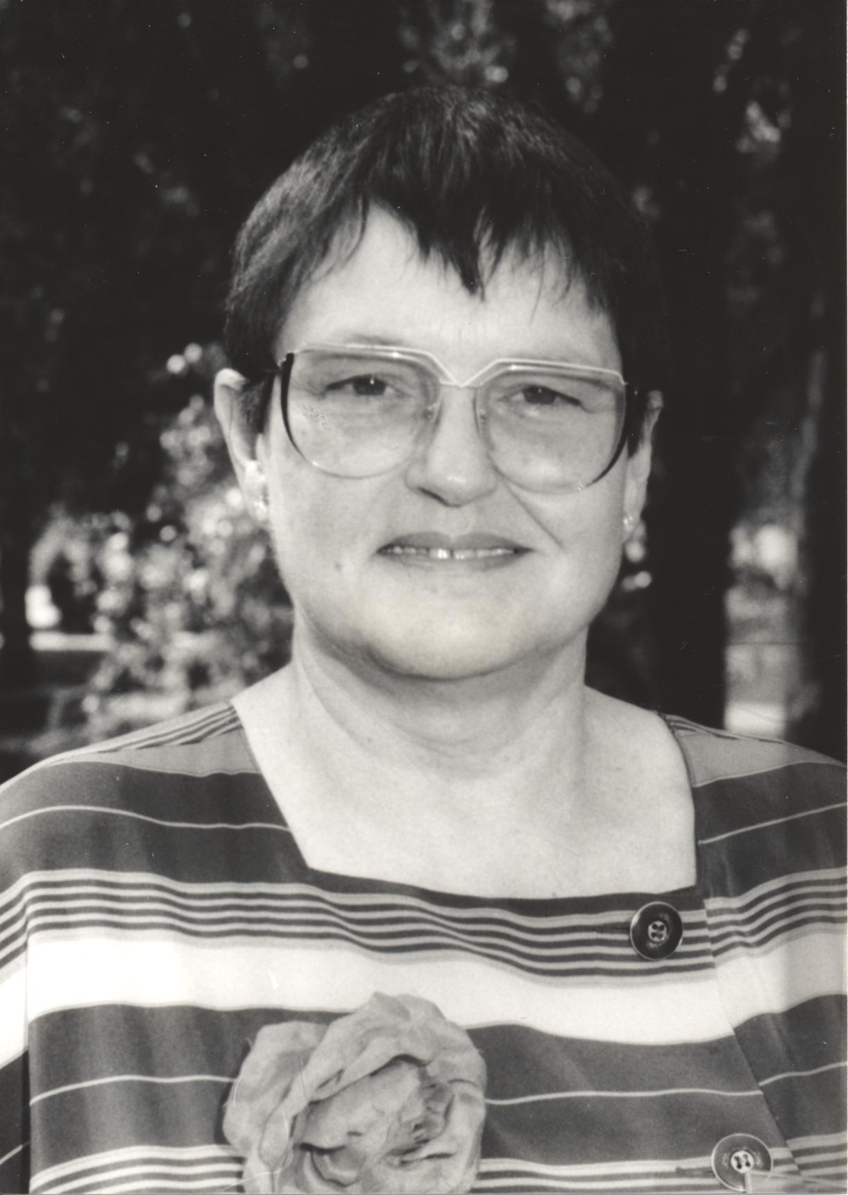 XIV. Imago Mundi-Kongress 1993, Innsbruck, Dr. Siglinde Dietz