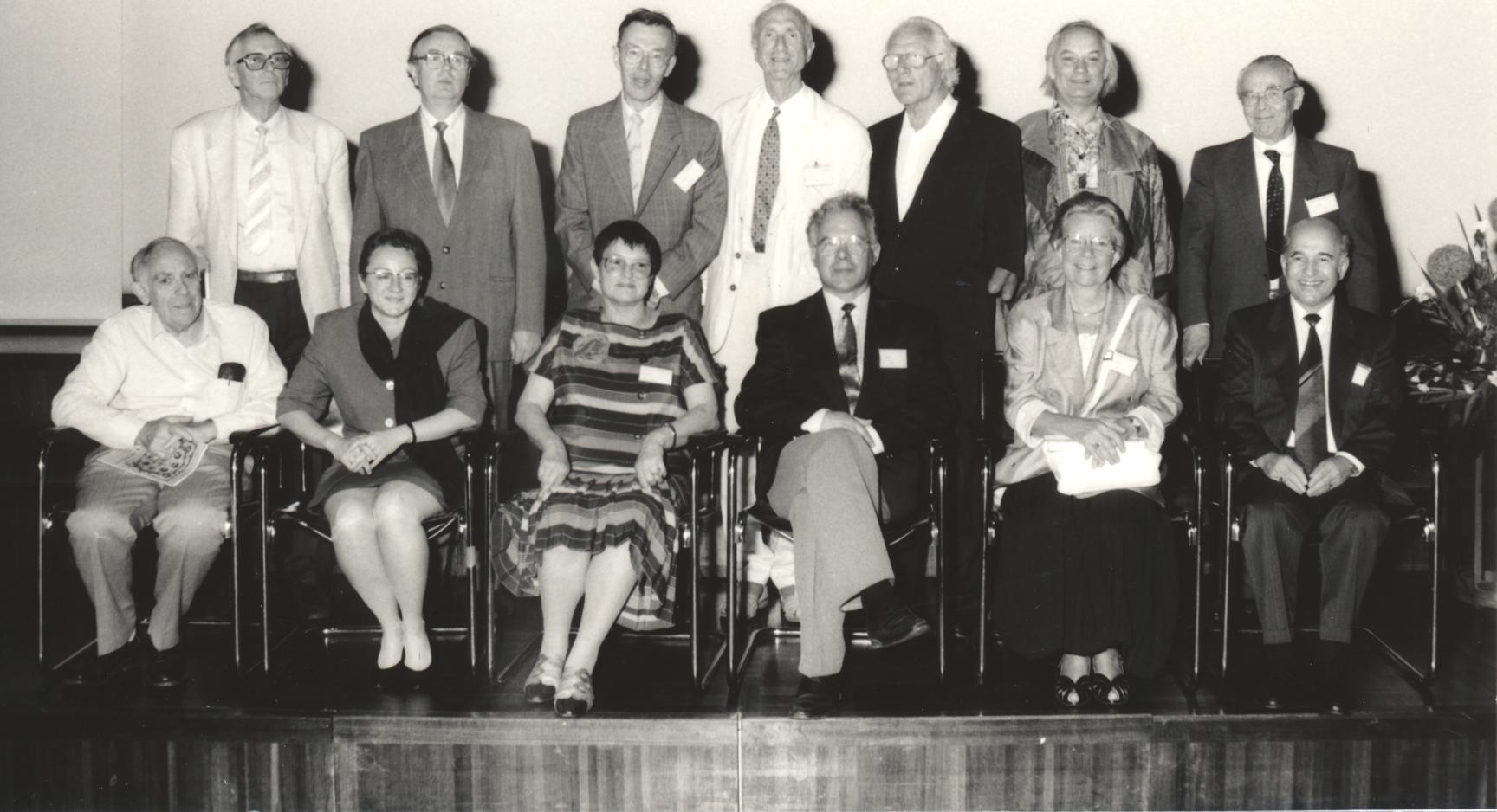 XIV. Imago Mundi-Kongress 1993, Innsbruck, Gruppenfoto der Referenten