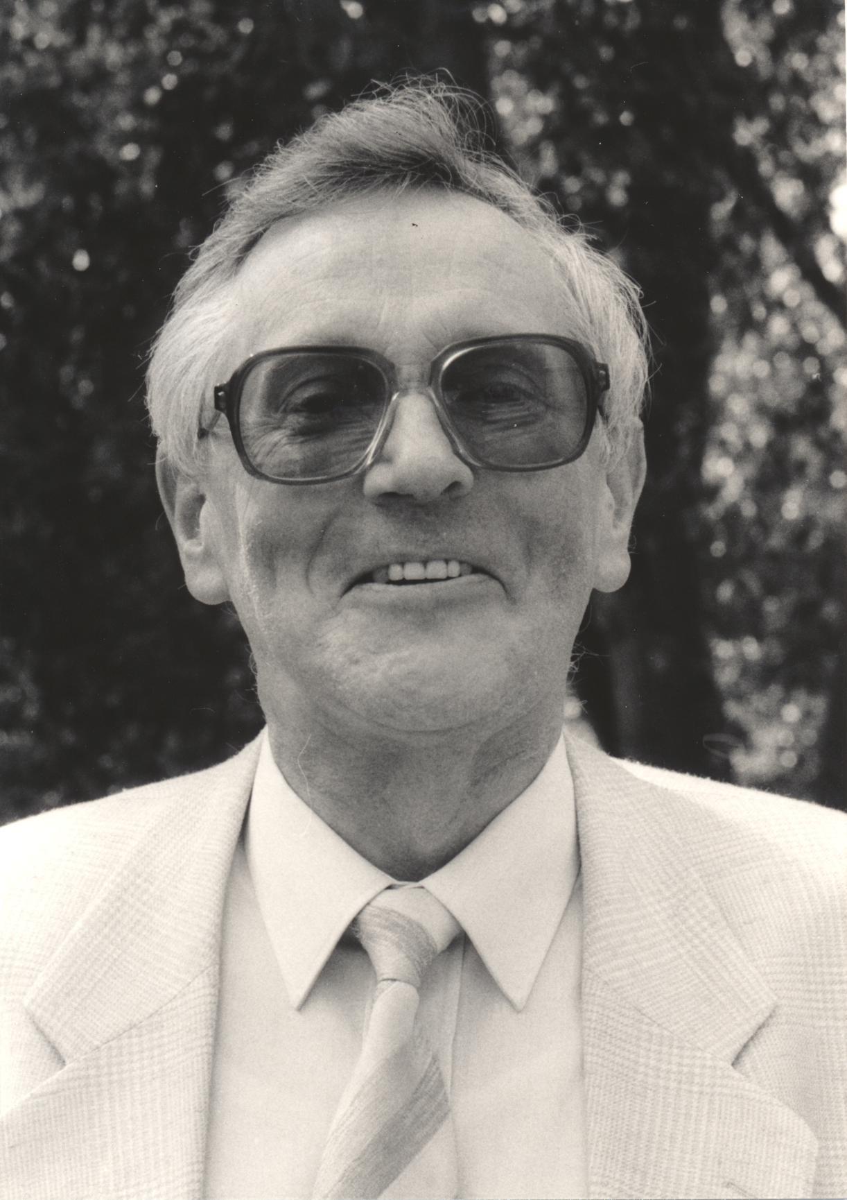 XIV. Imago Mundi-Kongress 1993, Innsbruck, Prof. Dr. J. C. Bürgel