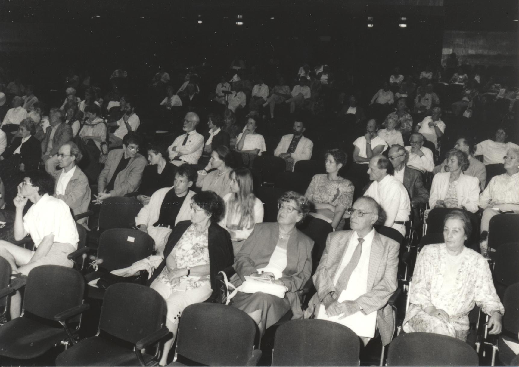 XIV. Imago Mundi-Kongress 1993, Innsbruck, Teilnehmerfoto
