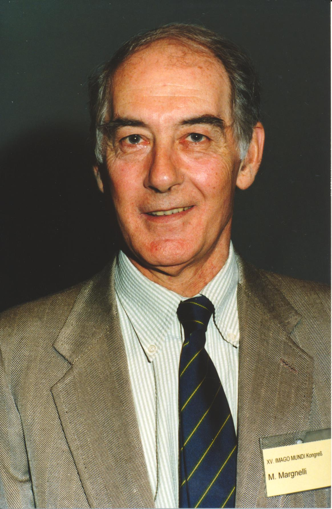 XV. Imago Mundi-Kongress 1995, Innsbruck, Dr. Marco Margnelli