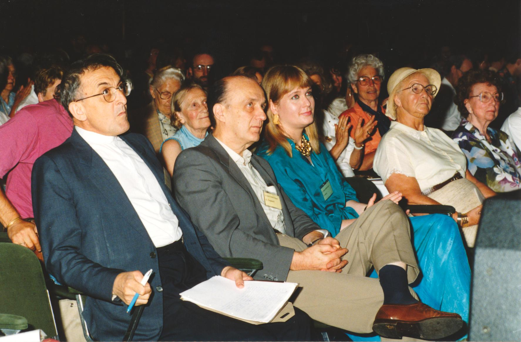XV. Imago Mundi-Kongress 1995, Innsbruck, Teilnehmerfoto